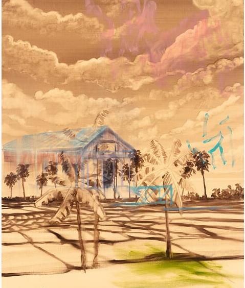 Rencontre avec Olivier Masmonteil : «je travaille sur le paysage, c'est mon sujet de peinture»