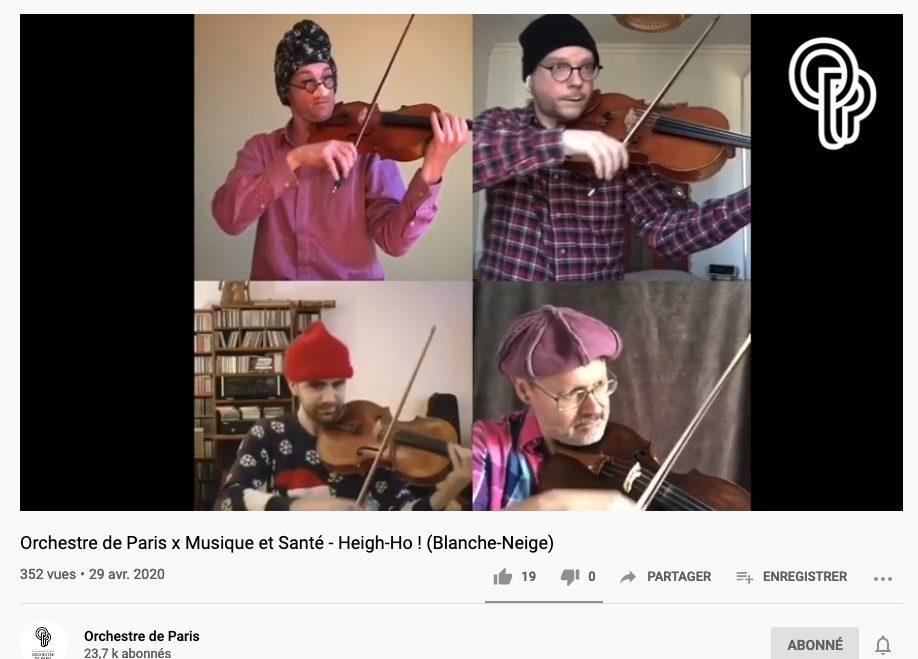 Ces musiciens qui se filment dans leur confinement (48)