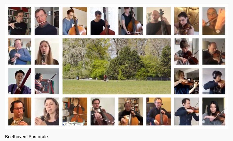 Ces musiciens qui se filment dans leur confinement (46)