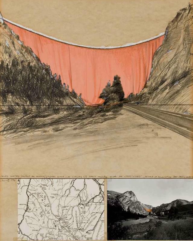 Christo, l'artiste qui emballait les plus beaux monuments historiques, est mort