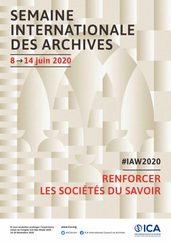 Semaine Internationale des Archives : des enjeux majeurs pour nos sociétés et les individus