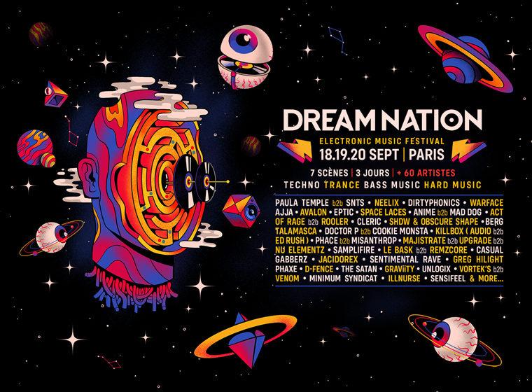 Dream Nation 2020 : 1 place à gagner pour l'Opening + le Main Event