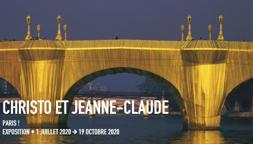 Christo et Jeanne-Claude emballent Beaubourg