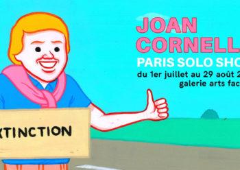 Affiche Paris Solo Show Joan Cordellà