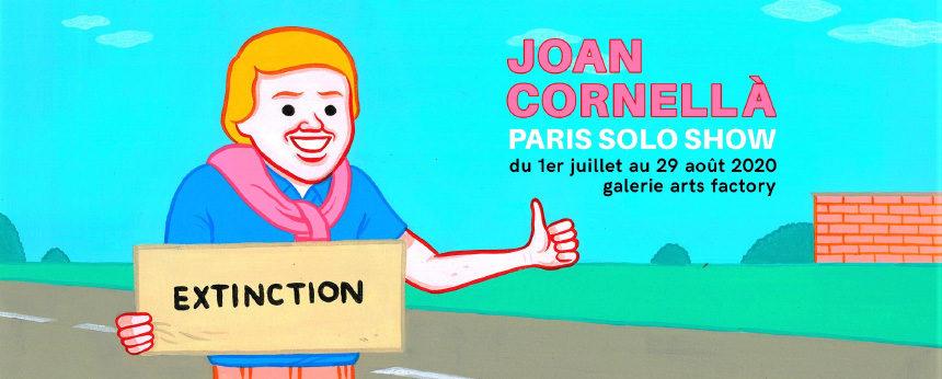 Le Paris Solo Show de Joan Cornellà, entre humour noir et couleur pop