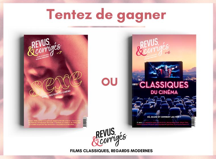 Jeu-concours : gagnez des exemplaires du magazine Revus & Corrigés.