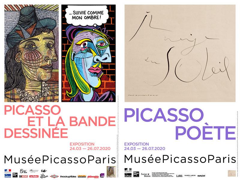 Bande dessinée et poésie au musée Picasso