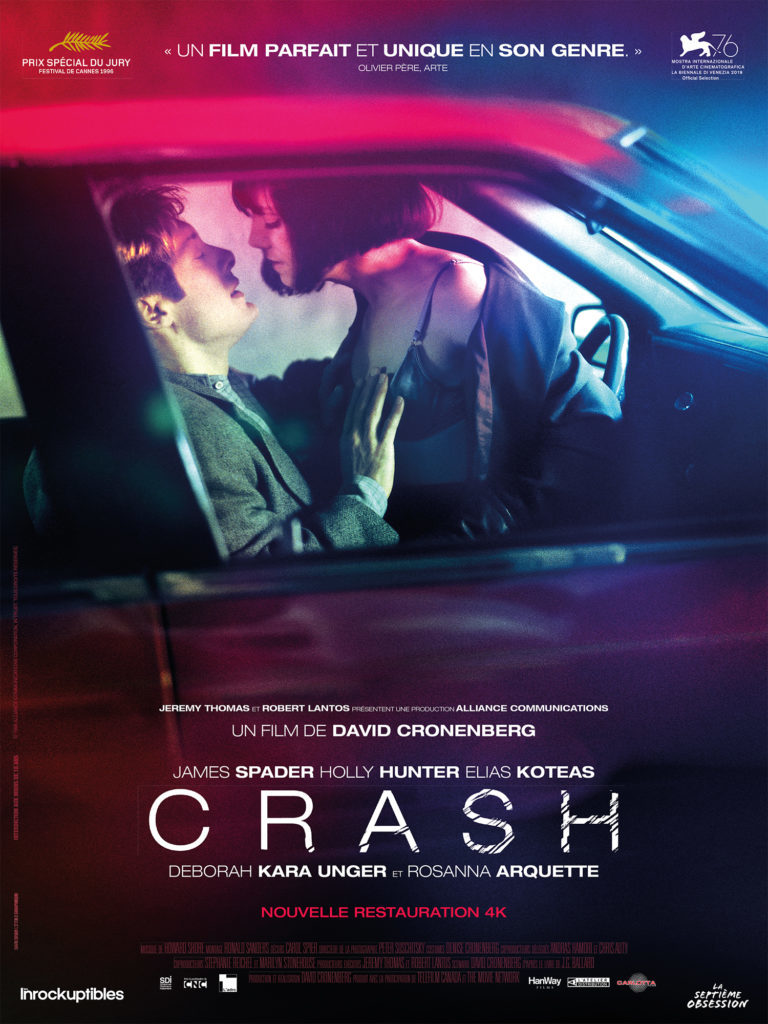 « Crash » de David Cronenberg sort restauré en 4k ce 8 juillet