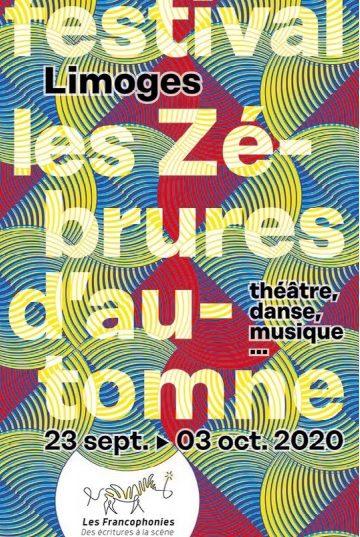 En septembre, les «Zébrures d'Automne» 2020 mettront le continent africain à l'honneur de la création francophone !