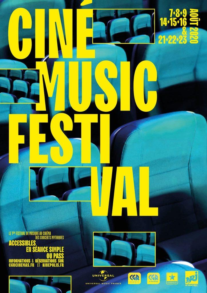 Ciné Music Festival : le premier festival de musique au cinéma