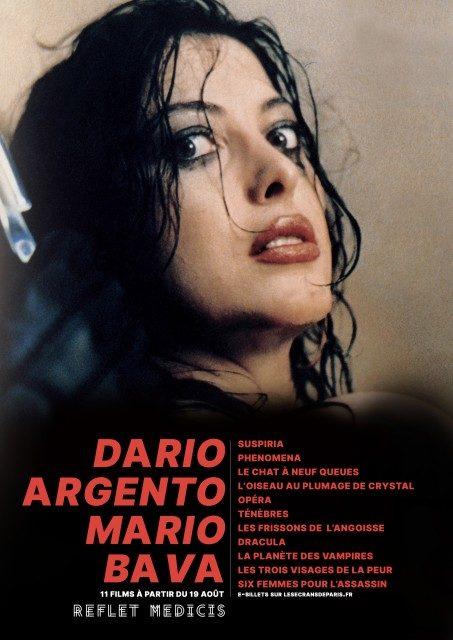 Double rétrospective Dario Argento et Mario Bava au Reflet Médicis