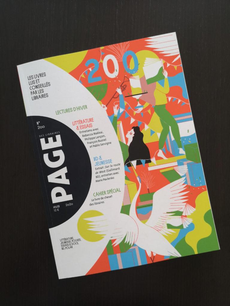 Page des Libraires : une revue 100% libraires afin de mettre en avant leur parole auprès des lecteurs dans un seul et même média