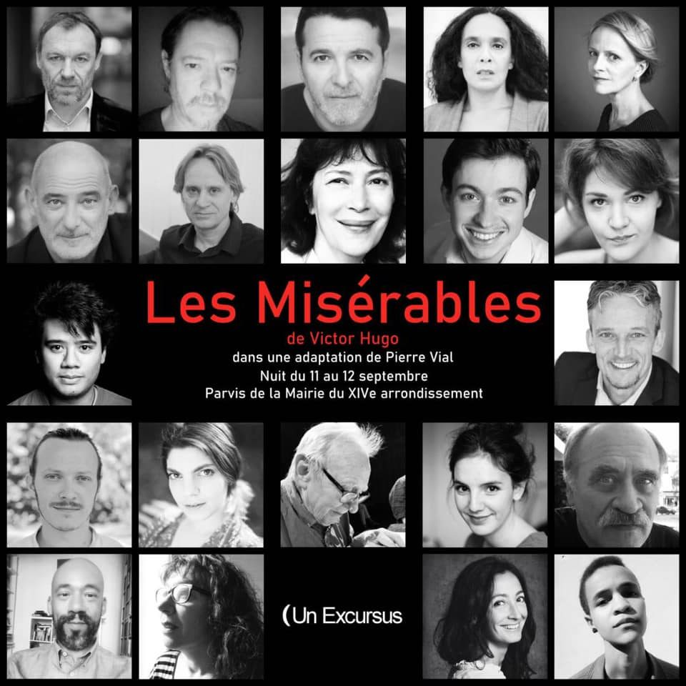 Une Lecture-Musicale et nocturne du roman «Les Misérables» aura lieu en septembre, à Paris
