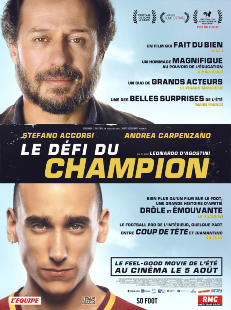 «Le défi du champion» : plongée dans la vie d'un jeune footballer par Leonardo d'Agostini