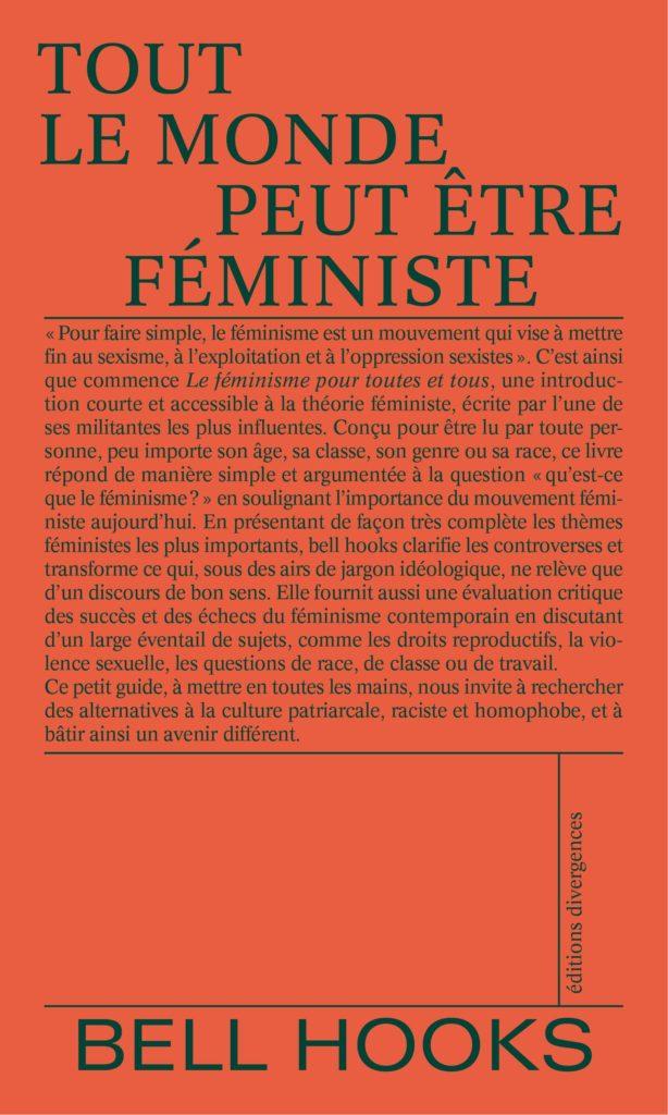 «Tout le monde peut être féministe» de bell hooks : de l'exigence à l'engagement