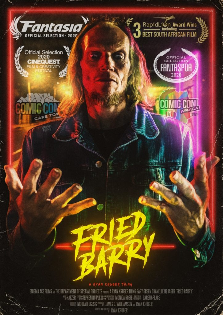« Fried Barry » de Ryan Kruger : sexe, drogue et aliens [critique]