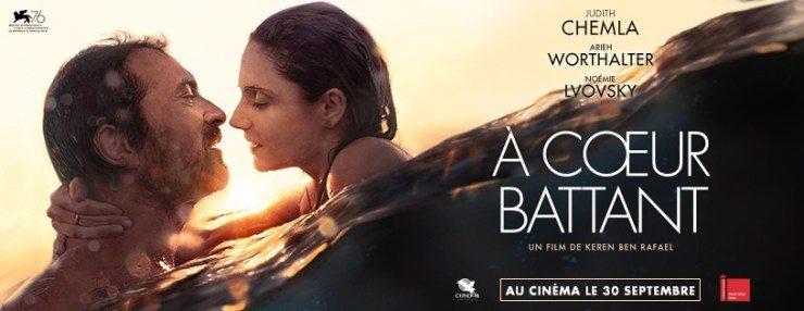 A CŒUR BATTANT, film brillant et tendre sort le 30 Septembre