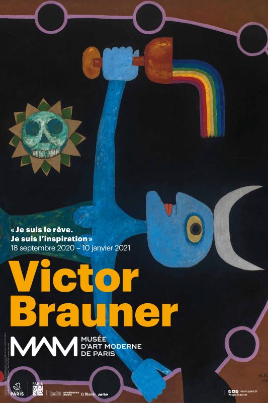 Victor Brauner majestueux et visionnaire au Musée d'Art Moderne de Paris