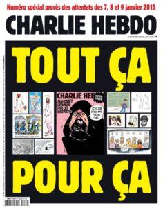 couverture Charlie Hebdo 2 septembre