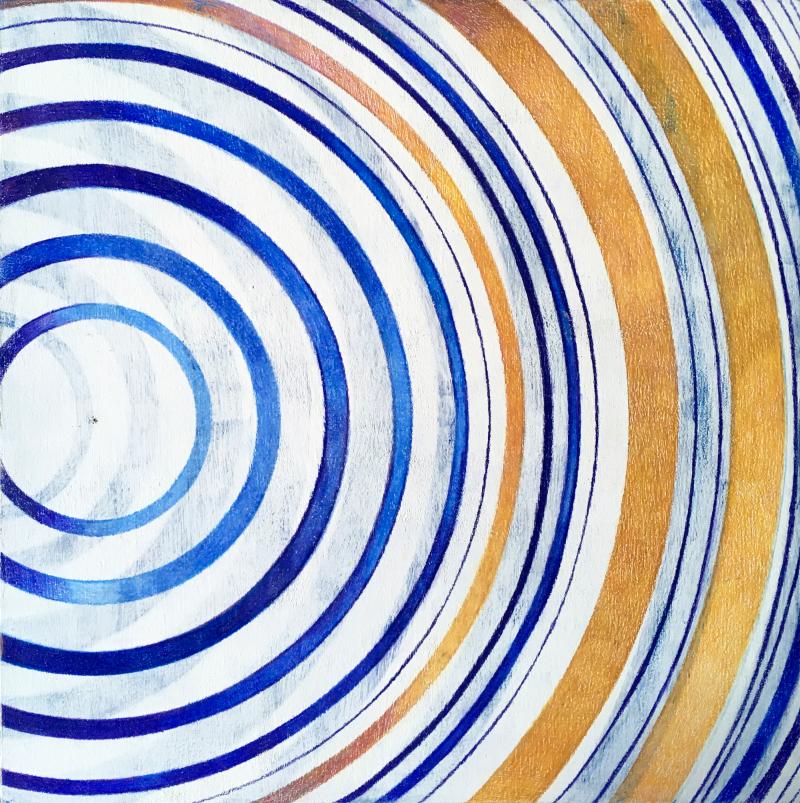 «Melah», exposition de Laura Nillni : variations de bleu pour la galerie Victor Sfez