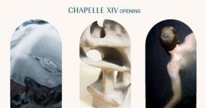 Affiche de l'inauguration de la Chapelle XIV