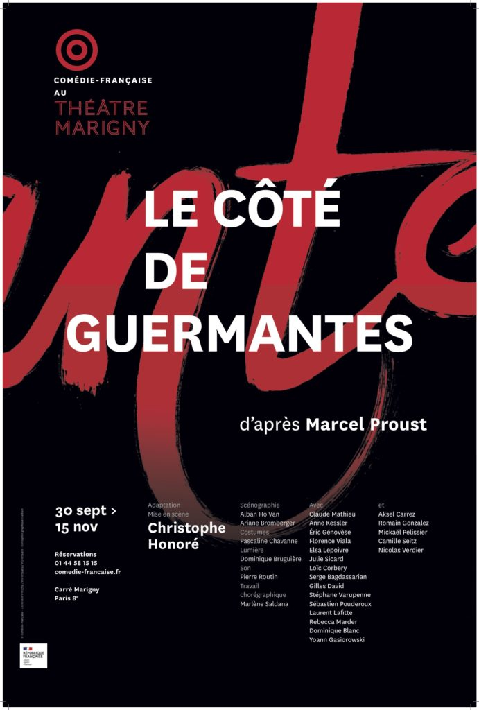 Le Côté de Guermantes, au Théâtre Marigny : Honoré propose une résurrection délicate de l'oeuvre proustienne