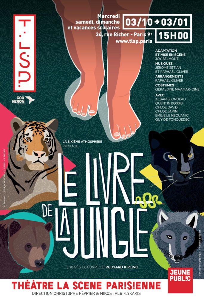 Le livre de la jungle, un enchantement pour les enfants à la Scène Parisienne