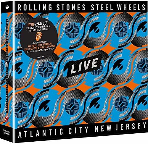 The Rolling Stones « Steel Wheels » Live : Le sphinx renait de ses cendres  !