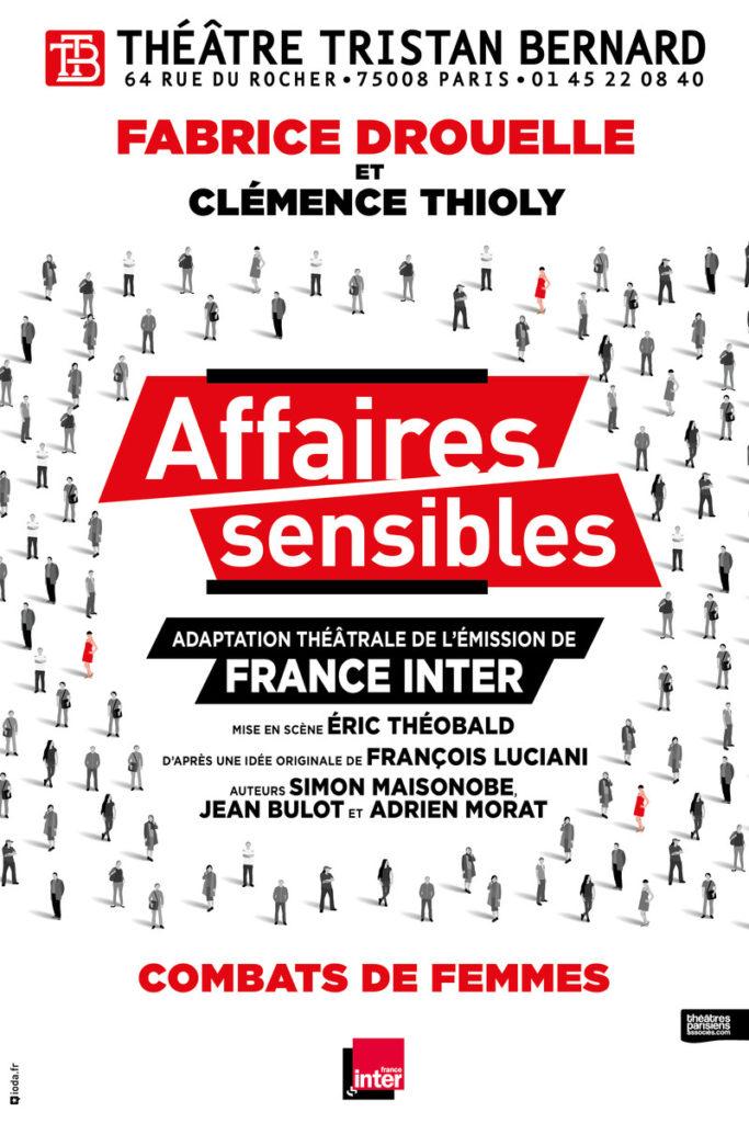 Affaires sensibles, une adaptation réussie de l'émission phare de France Inter, au Théâtre Tristan Bernard