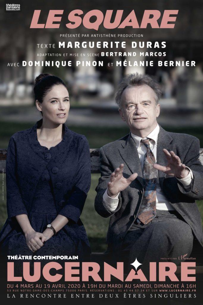 Dernières représentations du «Square» au Lucernaire