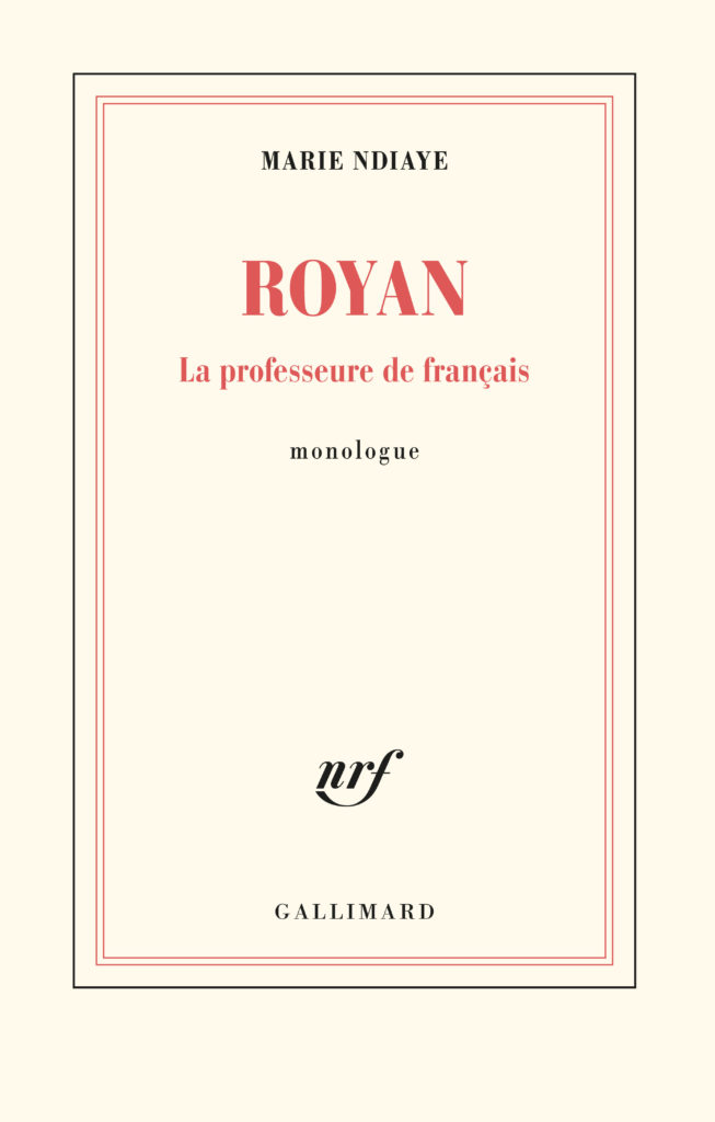 Le bouleversant monologue de Marie NDiaye dans «Royan»