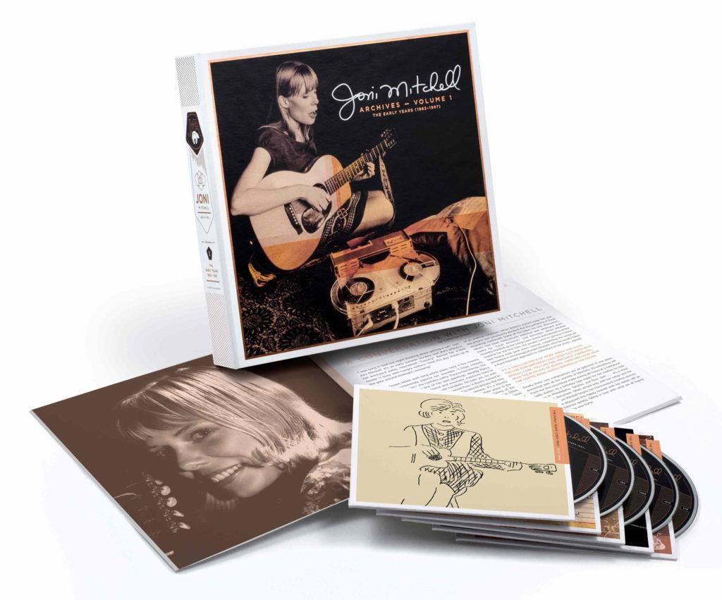 Archives de Joni Mitchell, vol. 1: The Early Years 1963-1967: le coffret aux mille et un trésors !