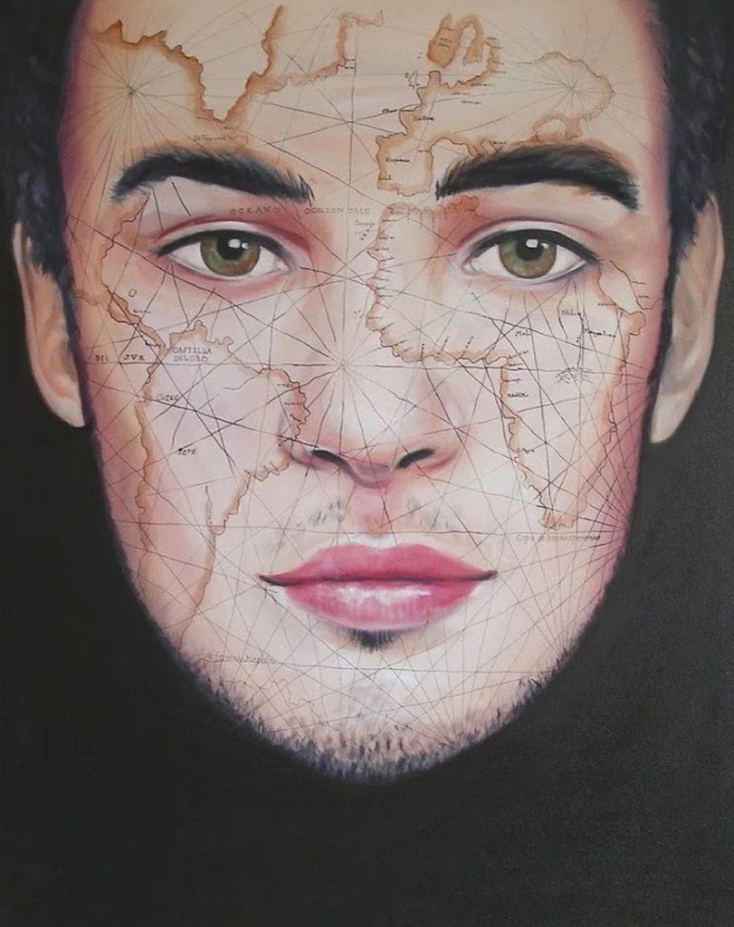 Portrait d'artiste : Yves Helbert, des mondes entre portrait et paysages