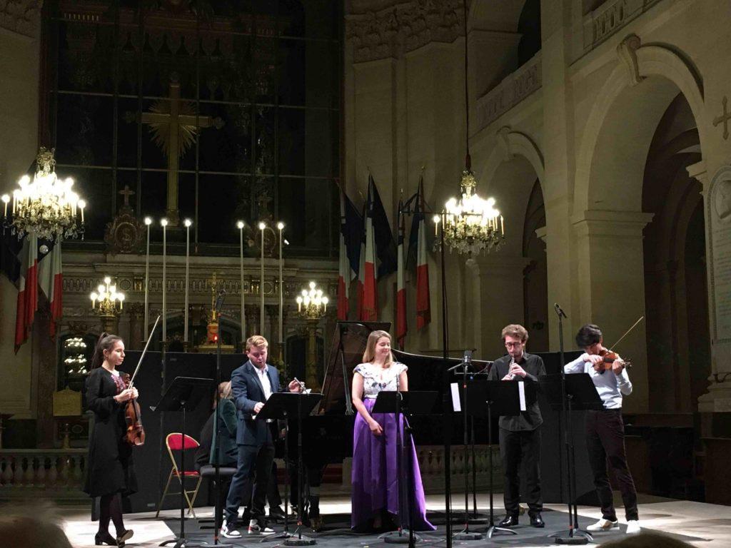 Concert des Révélations des Victoires de la musique classique 2020 aux Invalides