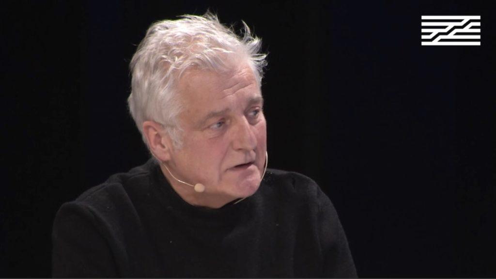 Lecture de Médecine Générale par Olivier Cadiot au Centre Pompidou