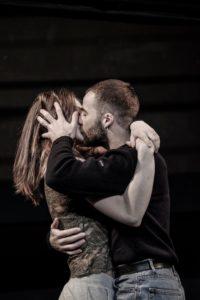 Roméo et Juliette premier baisé