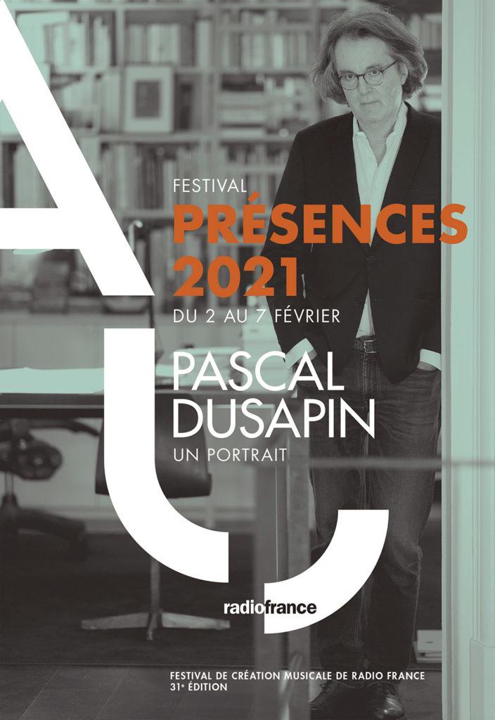 Une ouverture intimiste avec Pascal Dusapin pour l'édition 2021 du Festival Présences