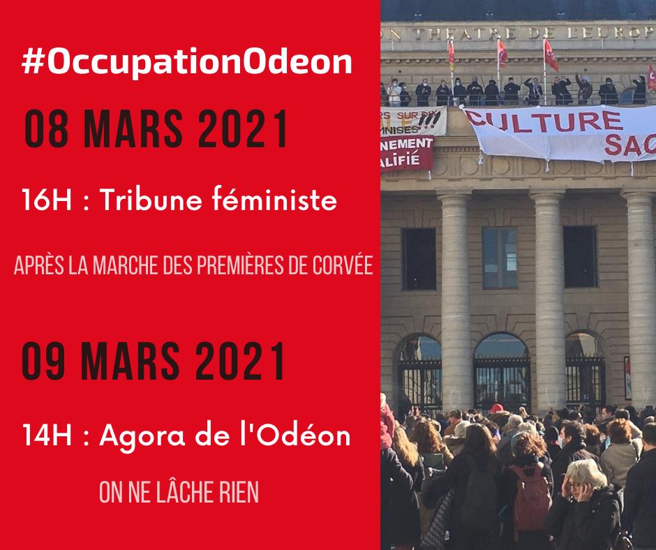 L'Odéon, le théâtre de la résistance du monde culturel
