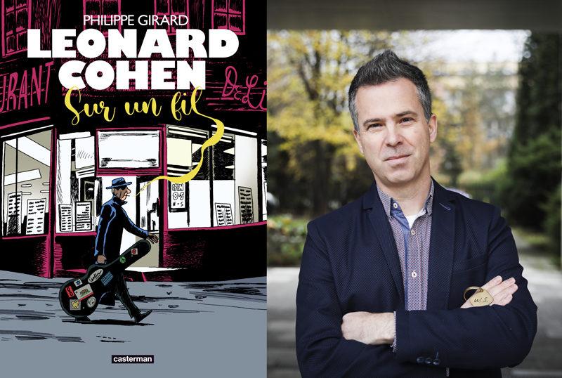 Philippe Girard rend hommage à Leonard Cohen