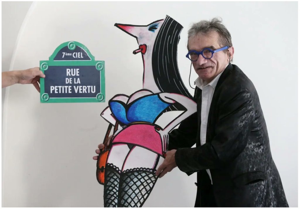 La vie d'artiste à Nice, en temps de Covid