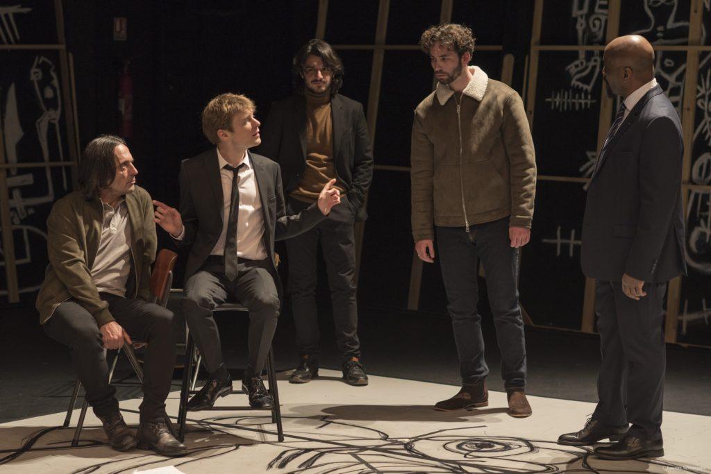Guy-Pierre Couleau met en scène La Tragédie d'Hamlet de Shakespeare, au Théâtre 13