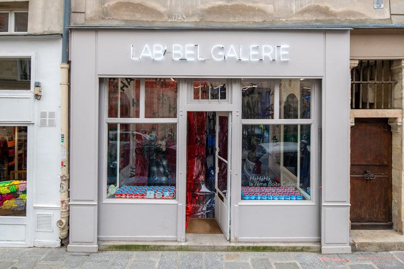 La Galerie Lab'Bel, l'art est dans la boîte de Vache qui rit