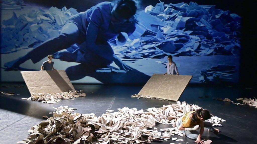 «Le chant des ruines» de Michèle Noiret : une réflexion esthétique sur la déconstruction