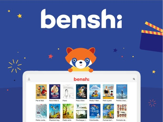Benshi, la plateforme pour les enfants cinéphiles
