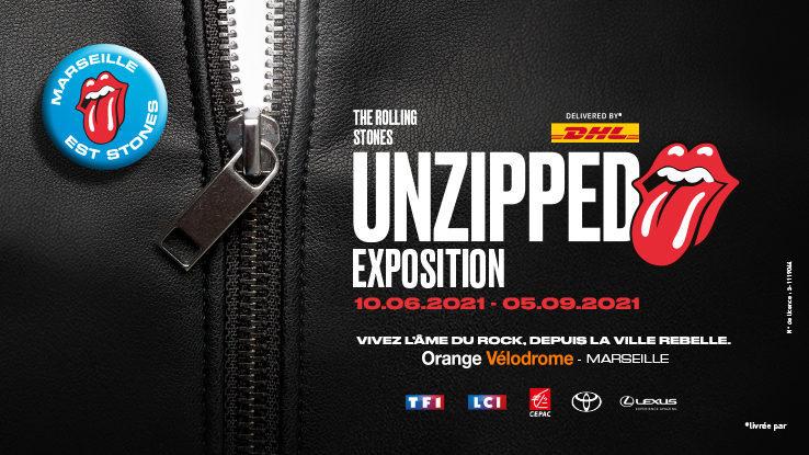 « Unzipped » l'exposition immersive consacrée aux Rolling Stones débarque à Marseille cet été