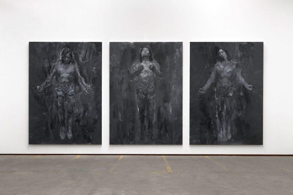 «Au nom du père» : une Rétrospective Yan Pei-Ming en dialogue avec le retable d'Issenheim au Musée Unterlinden