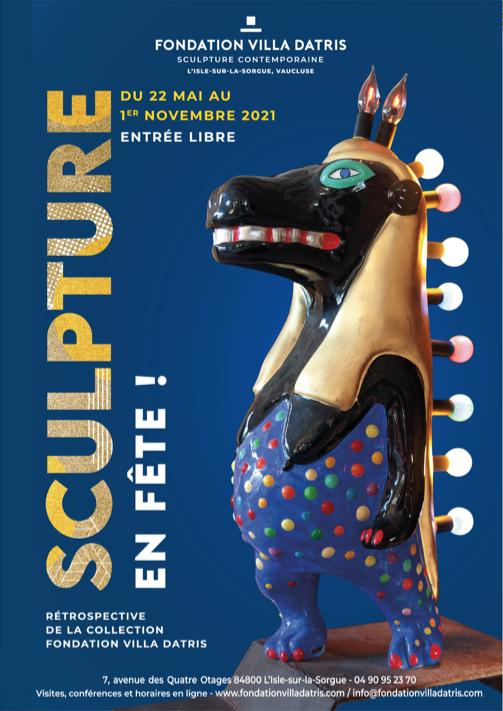 156 Sculptures en fête à la Villa Datris !