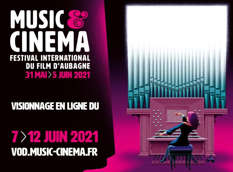 Gagnez 1 pass festival pour l'édition en ligne du Music&Cinema – Festival International du Film d'Aubagne