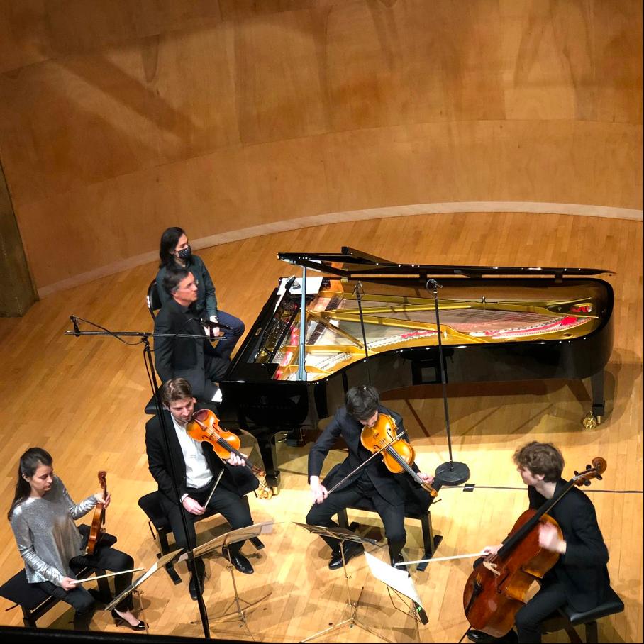 Une première soirée virtuose et festive de la Musikfest dédié à Brahms, salle Cortot