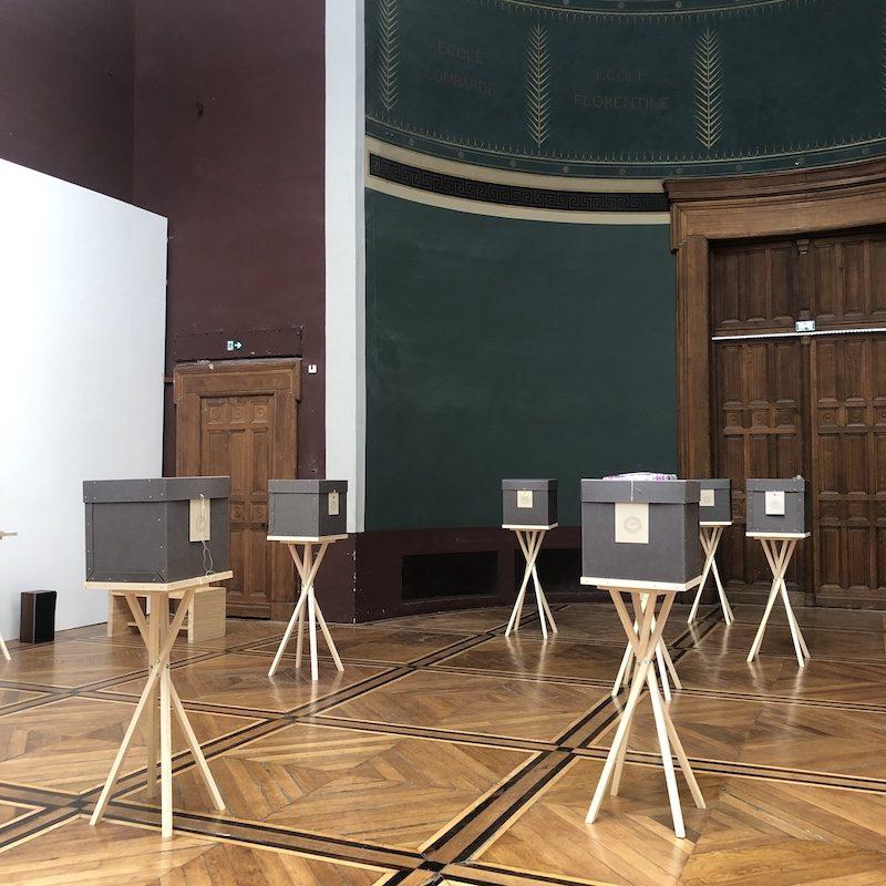 «Time Capsule 2045» : 17 artistes envoient leur imaginaire sonore vers le futur aux Beaux-Arts de Paris